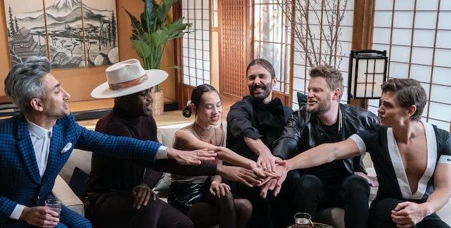 Fab Five Tan France, Karamo Brown, Jonathan Van Ness, Bobby Berk, and Antoni Porowski traveled to Japan for 'Queer Eye: We're In Japan!'
