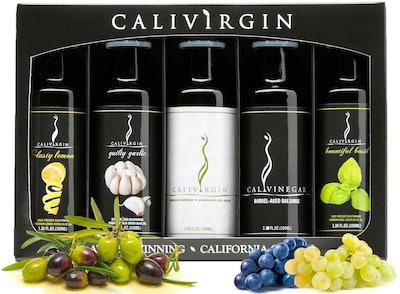 Calivirgin Olive Oil & Balsamic Vinegar Gift Set