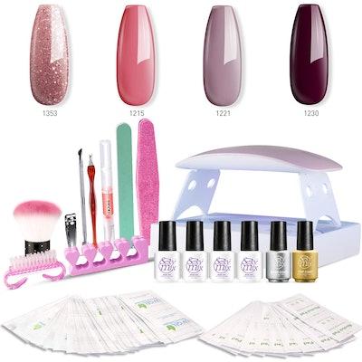 SEXY MIX Gel Nail Polish Kit