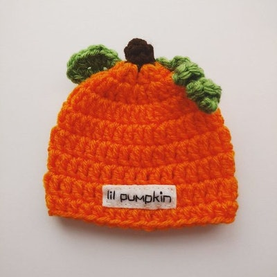 Preemie Pumpkin Hat