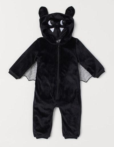 Velour Bat Costume