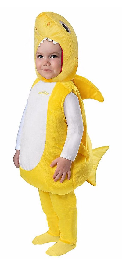Infant Baby Shark Costume With Sound Chip