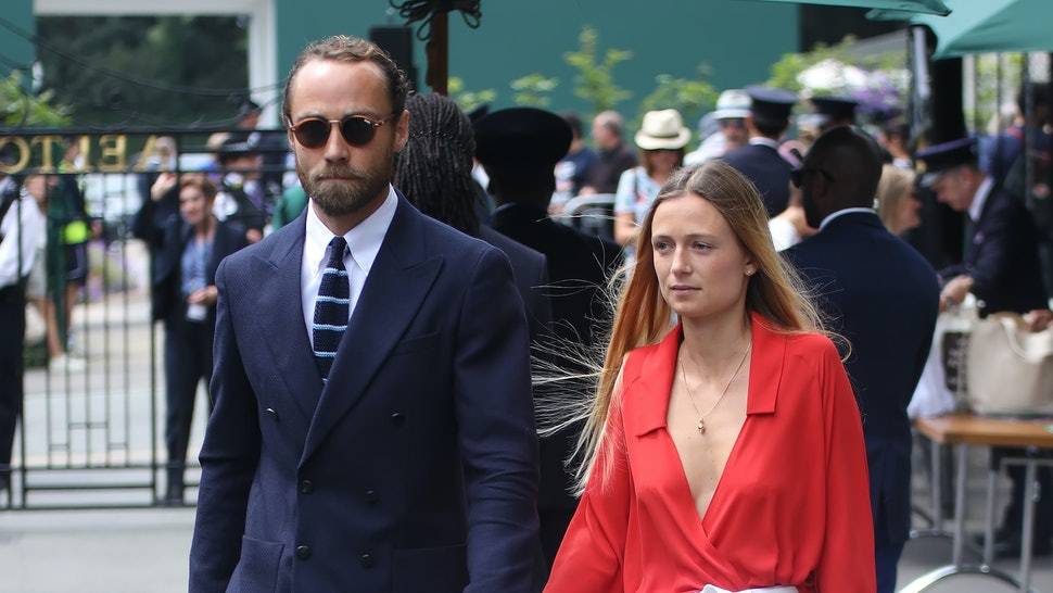 James Middleton and his fiancé Alizee Thevenet