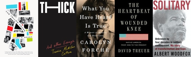 The nonfiction shortlist for the 2019 National Book Awards includes 'The Yellow House' and 'Thick.'