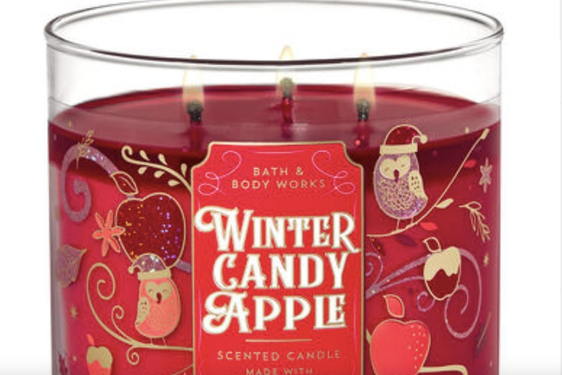 Bath & Body Works holiday Christmas candles for 2019.