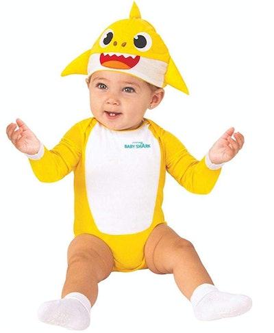 Baby Shark Costume One-Piece Bodysuit