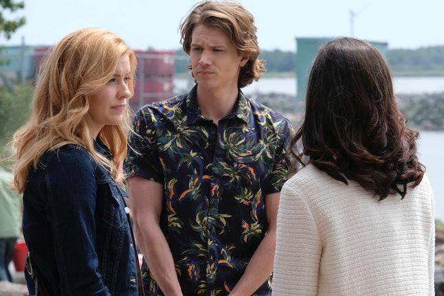 Alex Saxon as  Ace in The CW's Nancy Drew