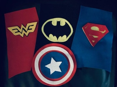 NICU Superhero Halloween Costumes