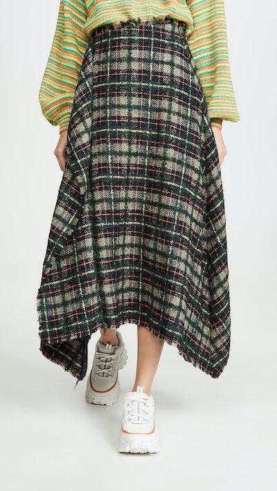 Clarisse Bouclé Skirt