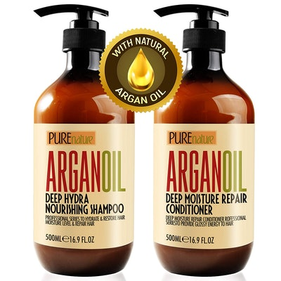 Pure Nature Lux Spa Argan Oil Shampoo And Conditioner