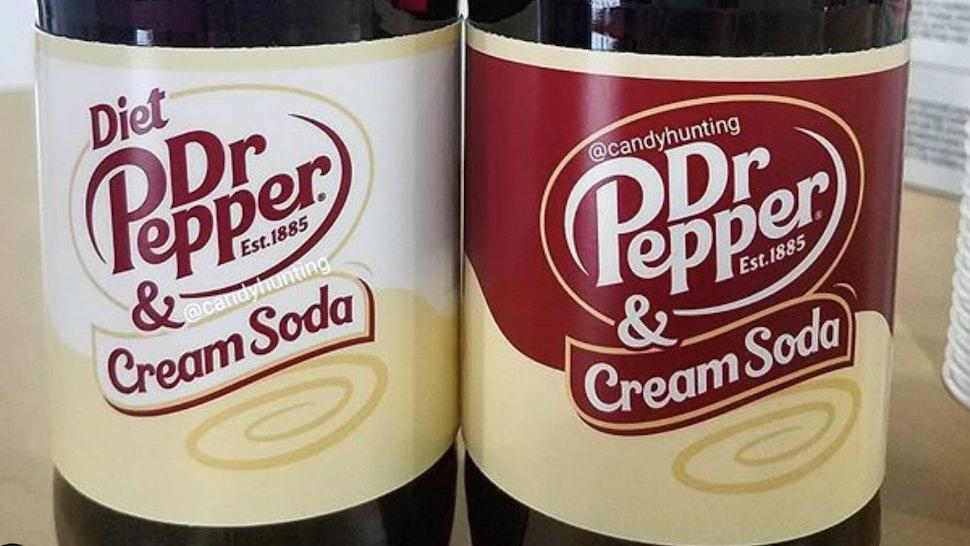 Dr Pepper & Cream Soda will arrive in March 2020.