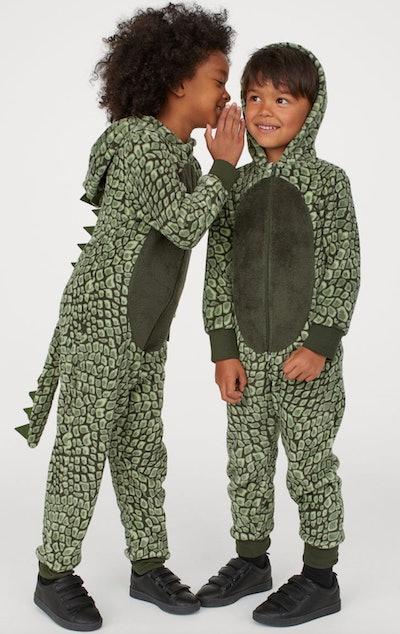Dark Green Dragon Costume