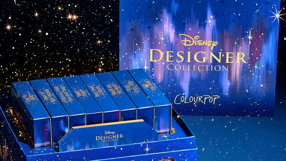 ColourPop x Disney Designer Midnight Masquerade Collection launches Oct. 7.