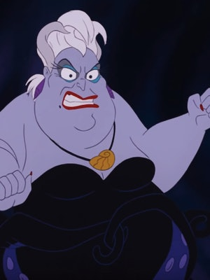 The original animated Ursula inspired Queen Latifah's Little Mermaid Live! look.