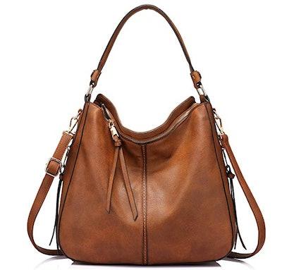 Realer Large Crossbody Bag with Tassel