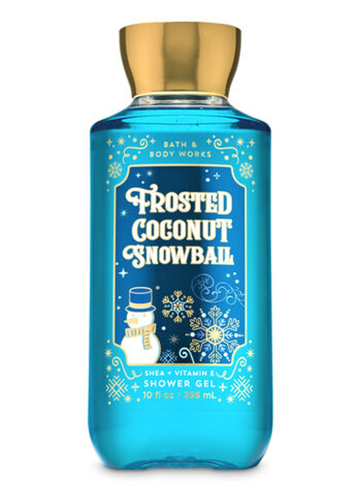 Frosted Coconut Snowball Shower Gel