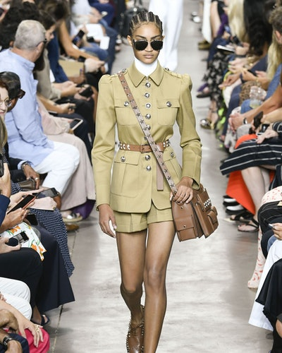 shorts suit trend for spring 2020 at Michael Kors