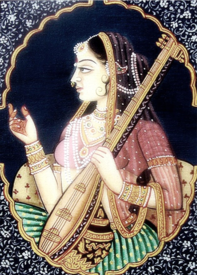 Princesses who are badasses includes Princess Mirabai of India