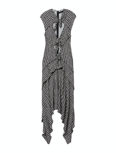 Checkered Tie Dress