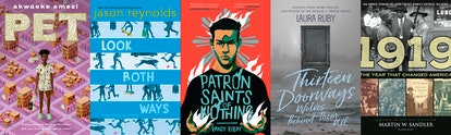 """The young people's literature shortlist for the 2019 National Book Awards includes 'Pet"""" and 'Look Both Ways.'"""