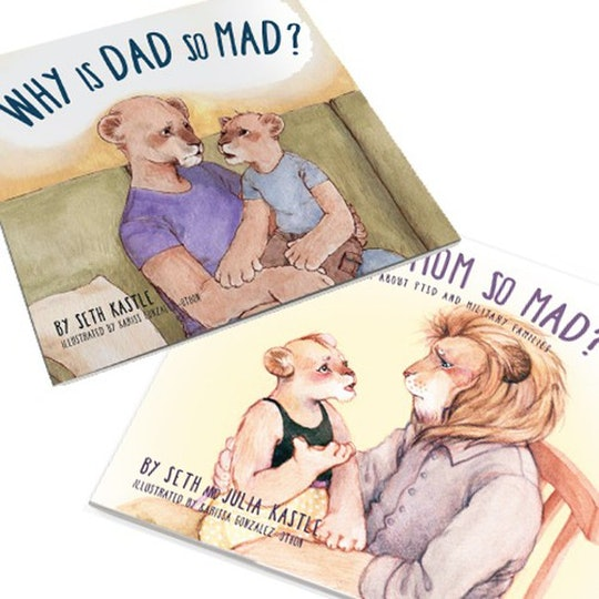 kids book explaining PTSD in military parents to children