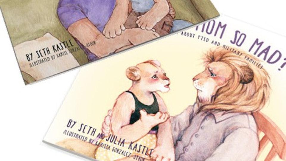 kids book explaining PTSD in military parents to children