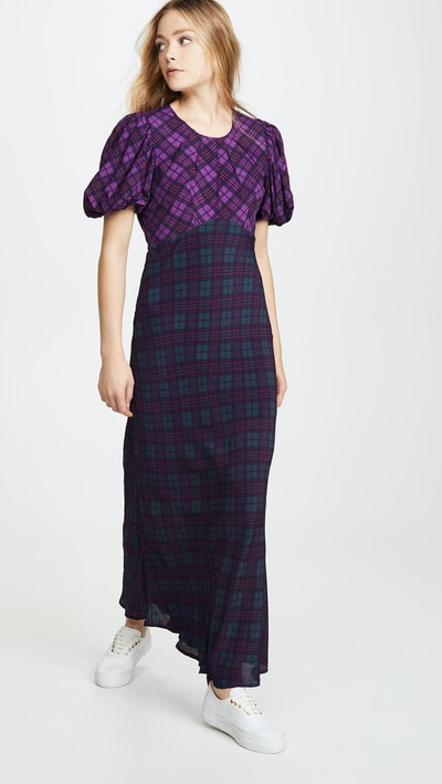 Plaid Cher Dress