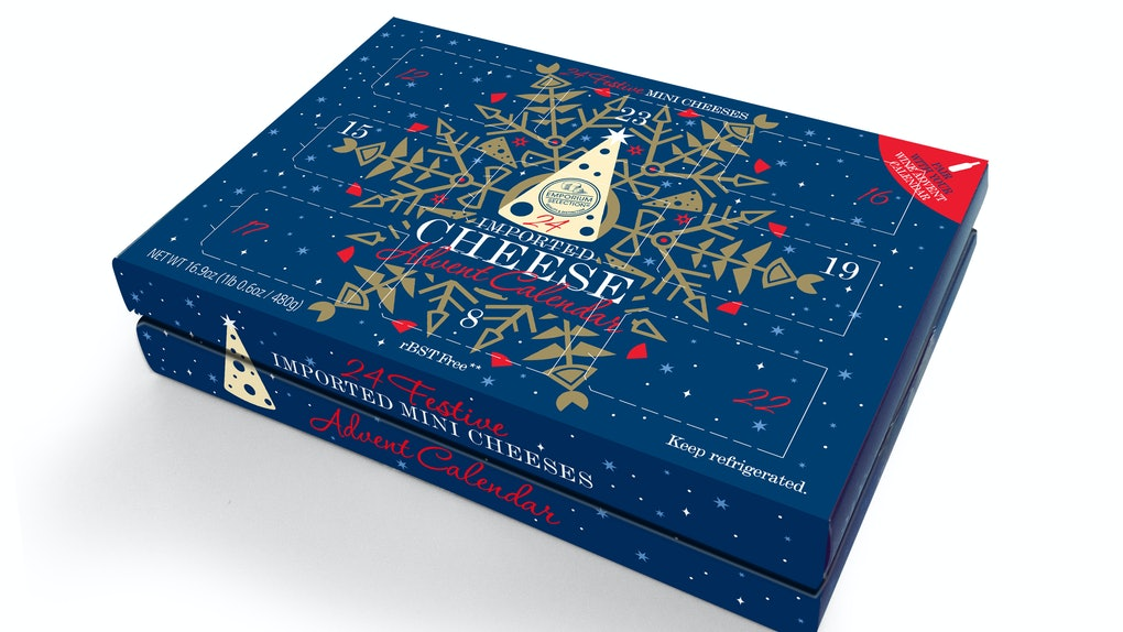 Aldi's 2019 Cheese Advent Calendar With 24 Imported Cheeses