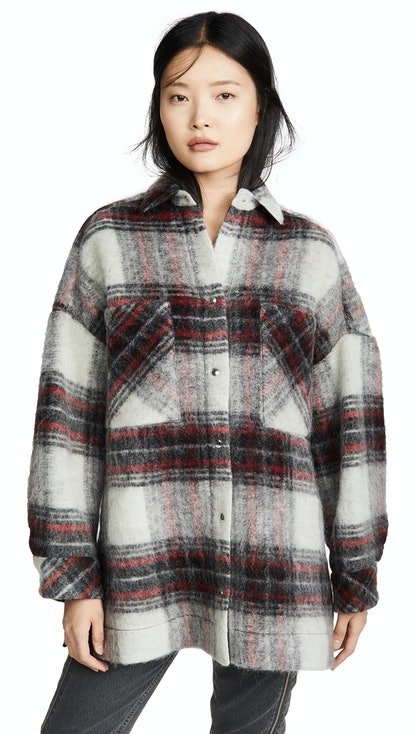 Minsky Checked Felt Jacket