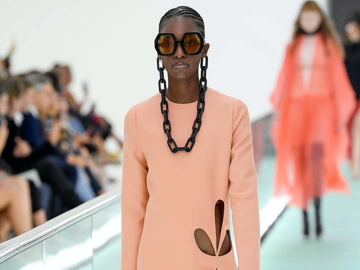 cutout runway trend for spring 2020