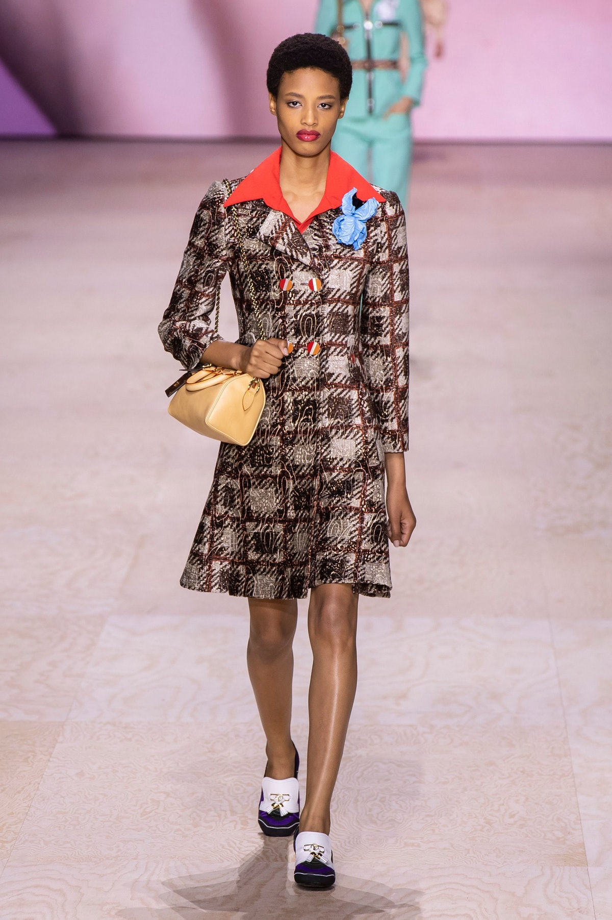 70s runway trend for Spring 2020 at Louis Vuitton