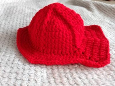 NICU Halloween Firefighter Helmet