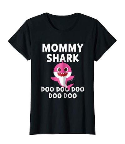 Womens Pinkfong Mommy Shark Official T-shirt