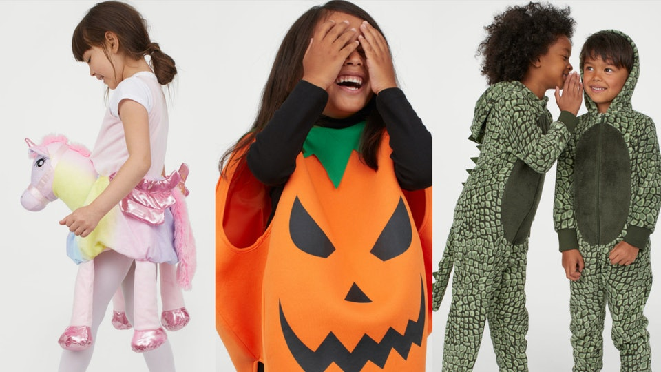 H&M's Halloween costumes won't break the bank, so your kids can be a unicorn, pumpkin, or a dragon this year