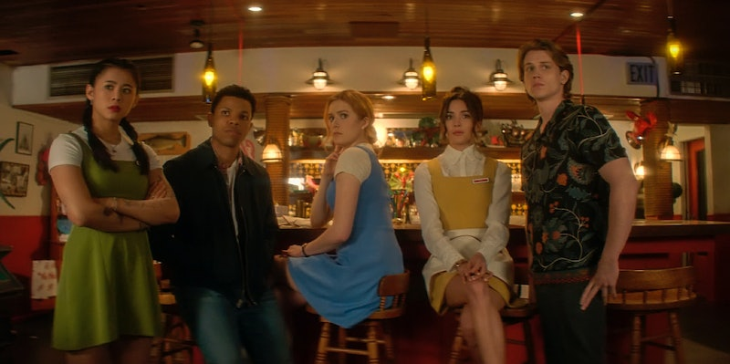 The Nancy Drew cast in the new spooky CW show.