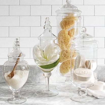 Glass Apothecary Jar (Various Sizes)