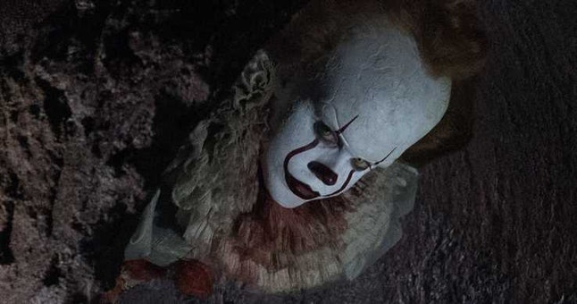 The clown from 'It: Chapter Two' is a popular Halloween costume.
