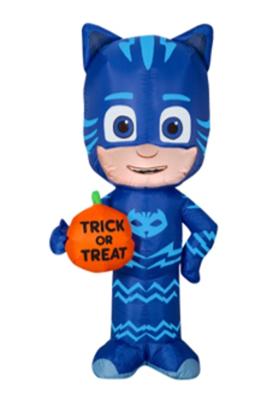 3.5ft. Airblown® Inflatable Halloween Catboy with Trick or Treat Pumpkin