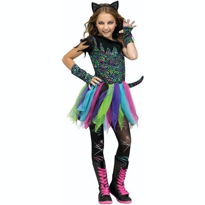 Rainbow Cat Child Halloween costume