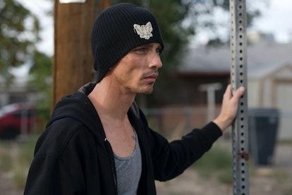 Charles Baker as Skinny Pete in Breaking Bad.