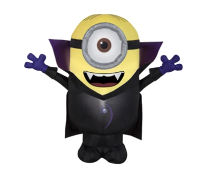 3ft. Airblown® Inflatable Halloween Universal Gone Batty Minion