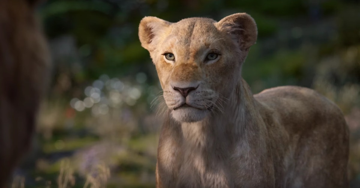 Nala in Disney's Live Action The Lion King