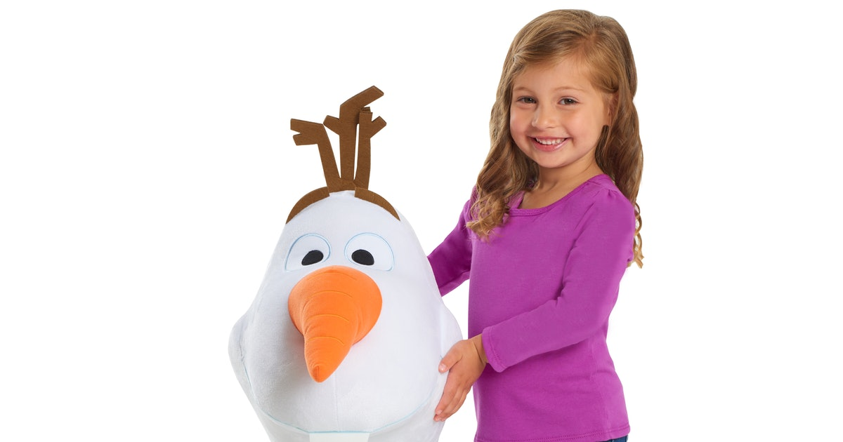 This 'Frozen 2' Giant Olaf Plush Is Here To Melt Your Kiddo's Heart