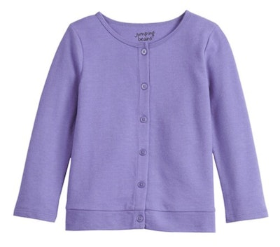 Button Up Knit Cardigain