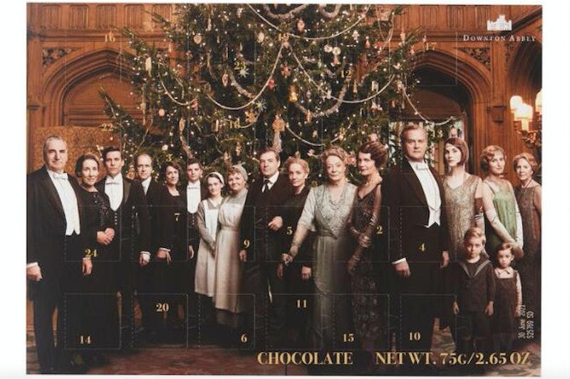 Downton Abby advent calendar chocolate