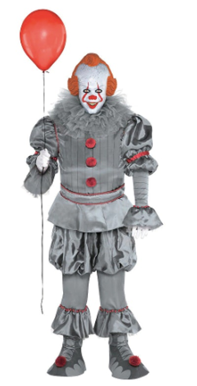Adult Tattered Pennywise Costume Plus Size - It Chapter Two