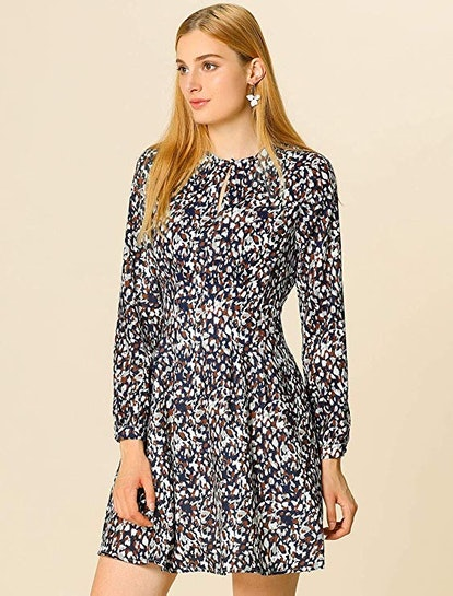 Allegra K Fit & Flare Dress