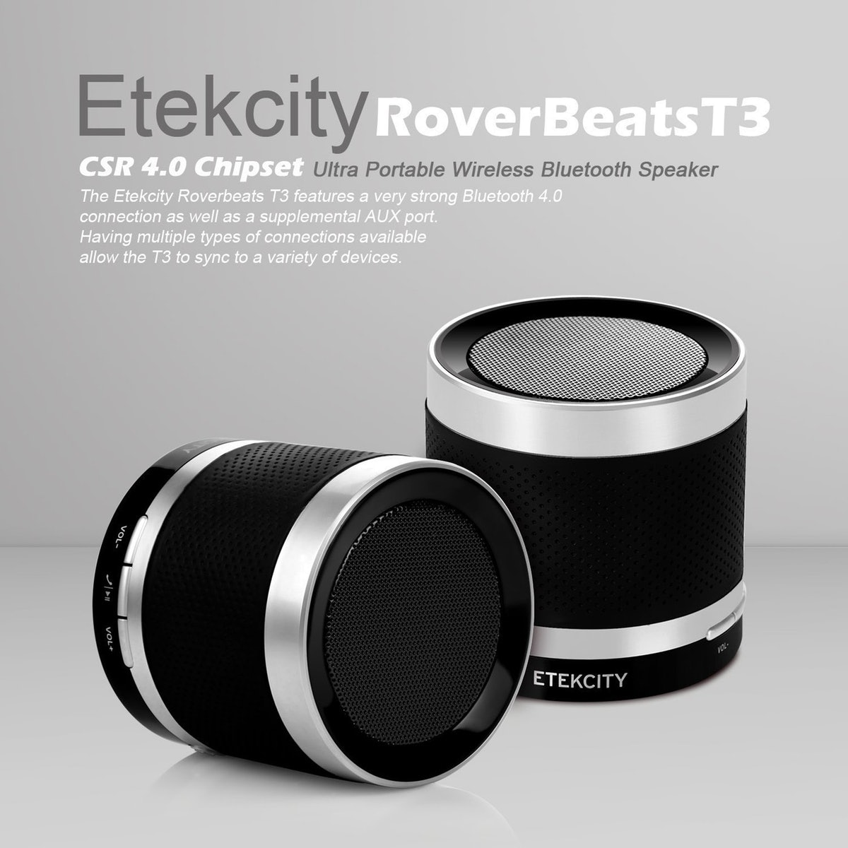 Etekcity Wireless Bluetooth Speaker