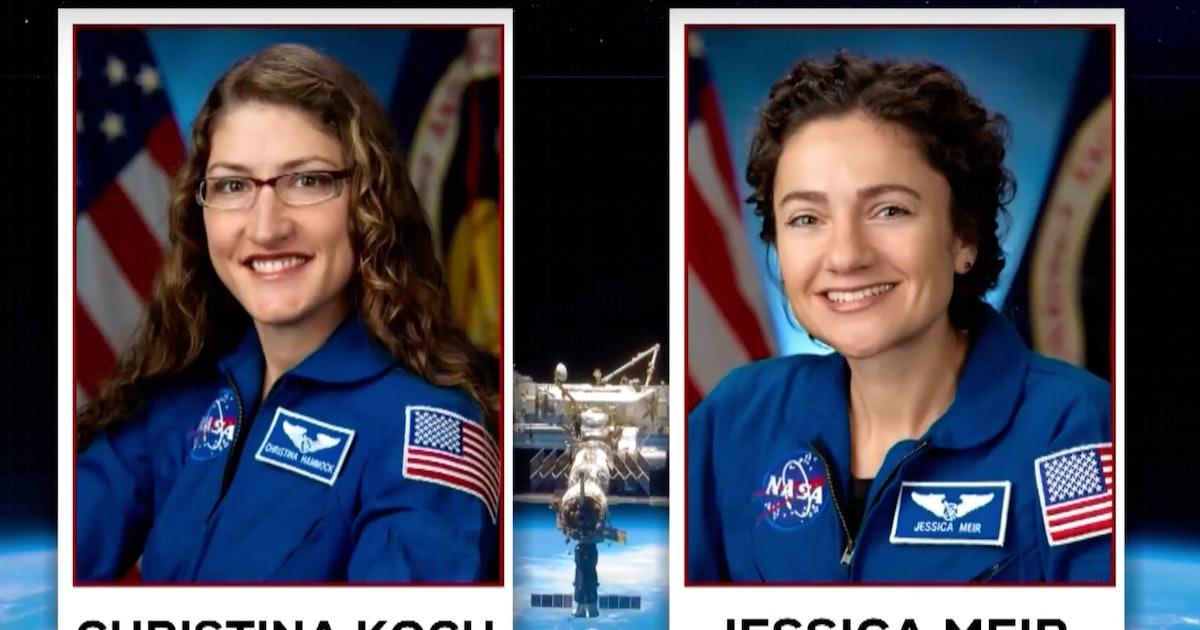 NASA's All-Female Spacewalk Finally Rescheduled After Spacesuit Snafu