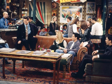 The cast of 'Friends' at Central Perk.